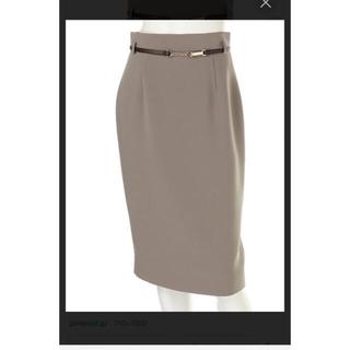 ジャスグリッティー(JUSGLITTY)のJUSGLITTY ベルト付きスカート(ひざ丈スカート)