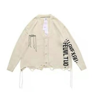 DOUBLE.B - DOUBLET ダブレット HIDDEN MESSAGE CARDIGAN