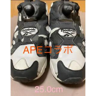 A BATHING APE - A BATHING APE x mita sneakers ポンプ フューリー