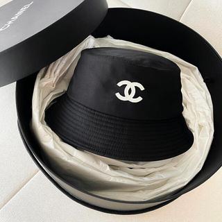 シャネル(CHANEL)の新品未使用未開封 CHANEL シャネル バケットハット 帽子 ブラック(ハット)