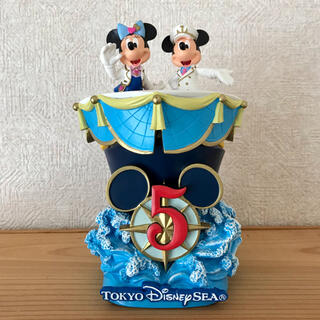 ディズニー(Disney)の【TDS】5周年非売品フィギュア(フィギュア)