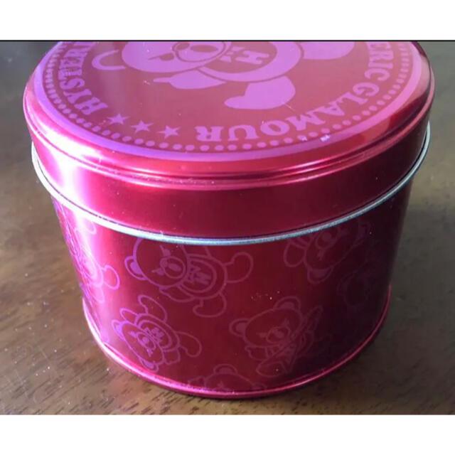 HYSTERIC GLAMOUR(ヒステリックグラマー)のヒステリックグラマー ファックベア ノベルティー 空缶 エンタメ/ホビーのコレクション(ノベルティグッズ)の商品写真