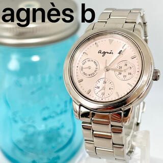 agnes b. - 137 アニエスベー時計 レディース腕時計 ピンク メンズ腕時計 クロノグラフ