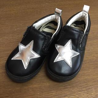 フタフタ(futafuta)のfutafuta  靴  星  15cm(スリッポン)