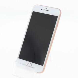 アイフォーン(iPhone)の【B】SIMフリー iPhone8 64GB ゴールド(スマートフォン本体)