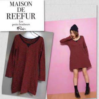 メゾンドリーファー(Maison de Reefur)のMaison de Reefur(ひざ丈ワンピース)
