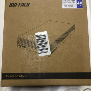 Buffalo - BUFFALO外付けてハードディスク