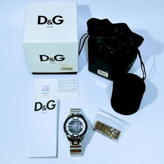 ドルチェアンドガッバーナ(DOLCE&GABBANA)の【D&G】腕時計 シャッフルド DW0317【動作未確認】(腕時計(アナログ))