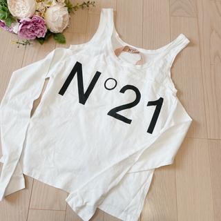 ヌメロヴェントゥーノ(N°21)のヌメロヴェントゥーノ N°21 タンクトップス(Tシャツ(半袖/袖なし))