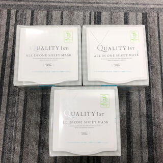 クオリティファースト(QUALITY FIRST)のクオリティファースト オールインワンシートマスク ホワイトEX BOX(30枚入(パック/フェイスマスク)