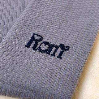 ロニィ(RONI)のRONI リブタイツ L(靴下/タイツ)