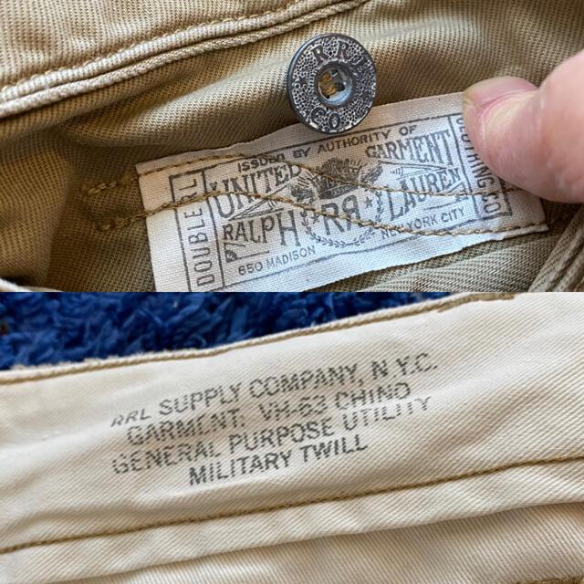 RRL(ダブルアールエル)の❇ RRL/VH-63 US ミリタリーチノ❣週末セール❣ メンズのパンツ(チノパン)の商品写真
