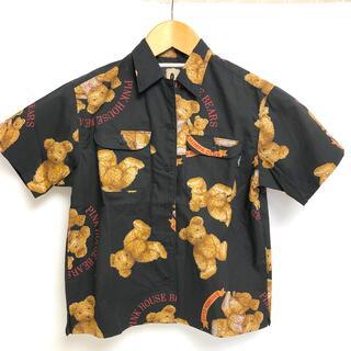 PINK HOUSE - ピンクハウス インゲボルグ シャツ くまちゃん 半袖  アロハシャツ