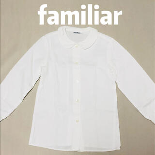 familiar - ファミリア FAMILIAR 長袖シャツ ブラウス 美品 120