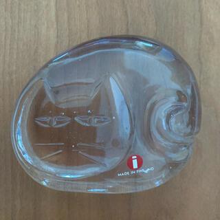 iittala - iittala  イッタラ  CAT ペーパーウェイト 北欧ガラス フィンランド