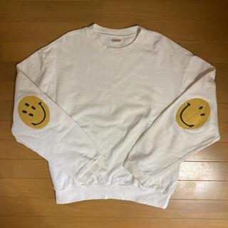 KAPITAL - キャピタル スマイルクルーネックスウェットシャツ