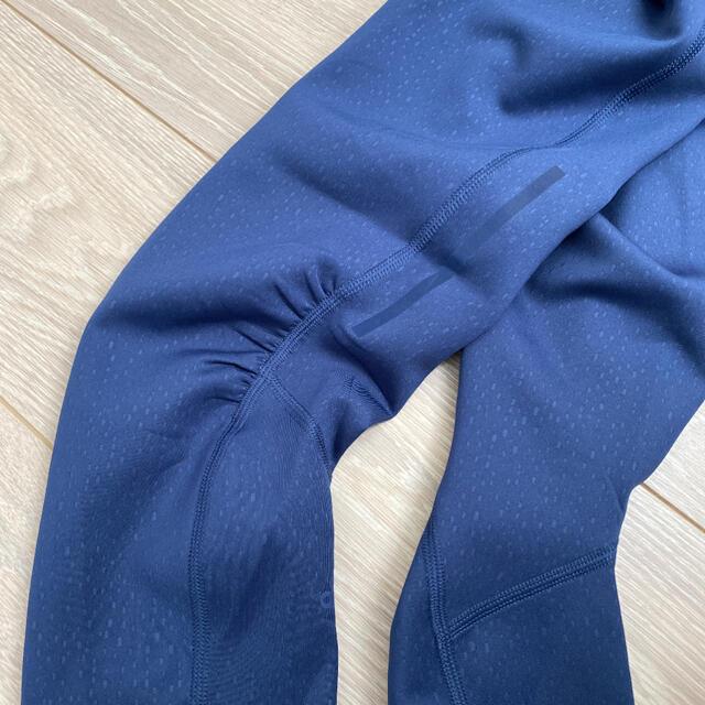 adidas(アディダス)の試着のみ美品 アディダス ランニングレギンス Mサイズ レディースのレッグウェア(レギンス/スパッツ)の商品写真