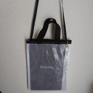 シャネル(CHANEL)のクリアバックとシャネルの保存袋(バッグ)