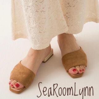 シールームリン(SeaRoomlynn)のsea roomlynn  SLANTINGカットミュール(サンダル)