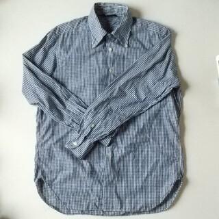 エディフィス(EDIFICE)のEDIFICE エディフィス ギンガムチェックシャツ(Tシャツ/カットソー(半袖/袖なし))