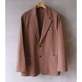 COMOLI - AURALEE Loose twill over Jacket 4