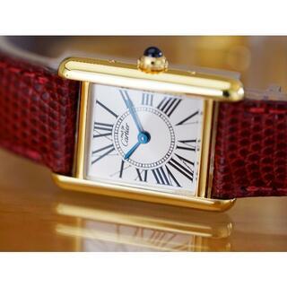 Cartier - 美品 カルティエ マスト タンク オパラン ローマン SM Cartier