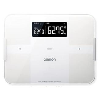 オムロン(OMRON)の体重体組成計 HBF-255T-W(体脂肪計)