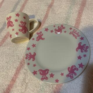 シャーリーテンプル(Shirley Temple)のノベルティお皿+マグカップ(食器)