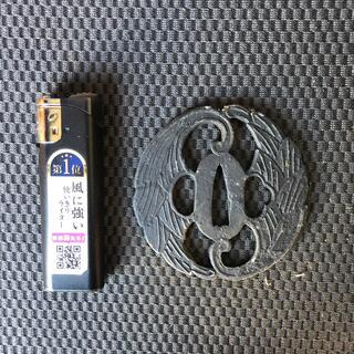 a32 抱き茗荷 鍔 送料無料(武具)