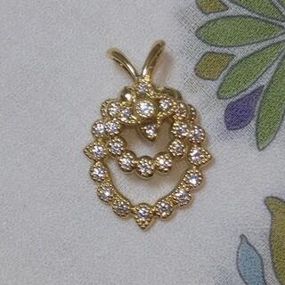 ウォルサム(Waltham)のK18 WALTHAM  ダイヤ  ペンダントトップ(ネックレス)