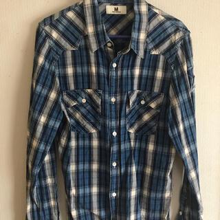 エム(M)のエム チェックシャツ Sサイズ (シャツ)