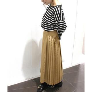 リミットレスラグジュアリー(LIMITLESS LUXURY)のベイクルーズ プリーツスカート(ロングスカート)