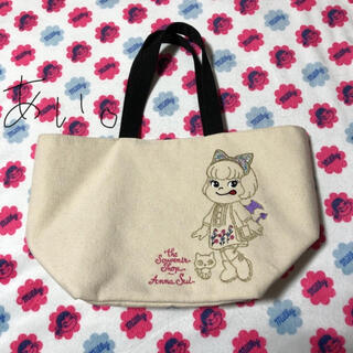 ANNA SUI - 《限定品》不二家 ペコちゃん アナスイ トート バッグ。