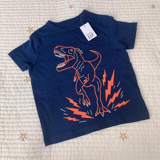 ベビーギャップ(babyGAP)のbaby GAP 恐竜 Tシャツ 80(Tシャツ)