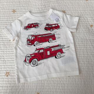 ベビーギャップ(babyGAP)のbaby GAP 車 Tシャツ 70(Tシャツ)