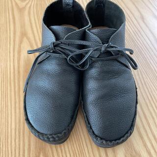 サマンサモスモス(SM2)のSM2サマンサモスモス靴 ブーツ ブラック M 23.5cm(ローファー/革靴)