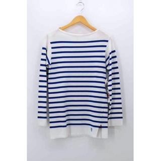オーシバル(ORCIVAL)のORCIVAL(オーチバル) ボートネックボーダーバスクシャツ メンズ トップス(Tシャツ/カットソー(七分/長袖))