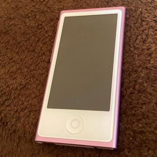 アイポッド(iPod)のiPod nano 16GB  パープル(ポータブルプレーヤー)