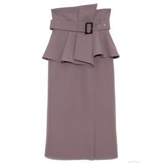 snidel - SNIDEL コルセットベルトタイトスカート 2021ss