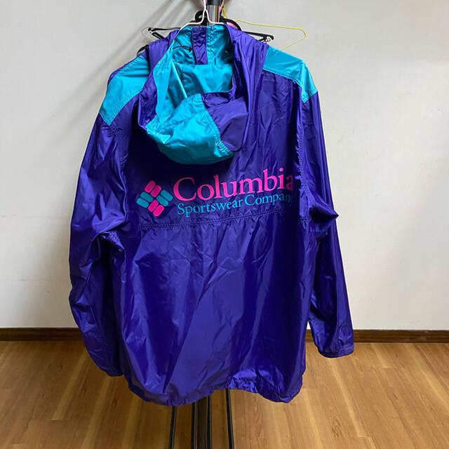 XLARGE(エクストララージ)のXLARGE×Columbia SANTA ANA ANORAK XXL  メンズのジャケット/アウター(ナイロンジャケット)の商品写真