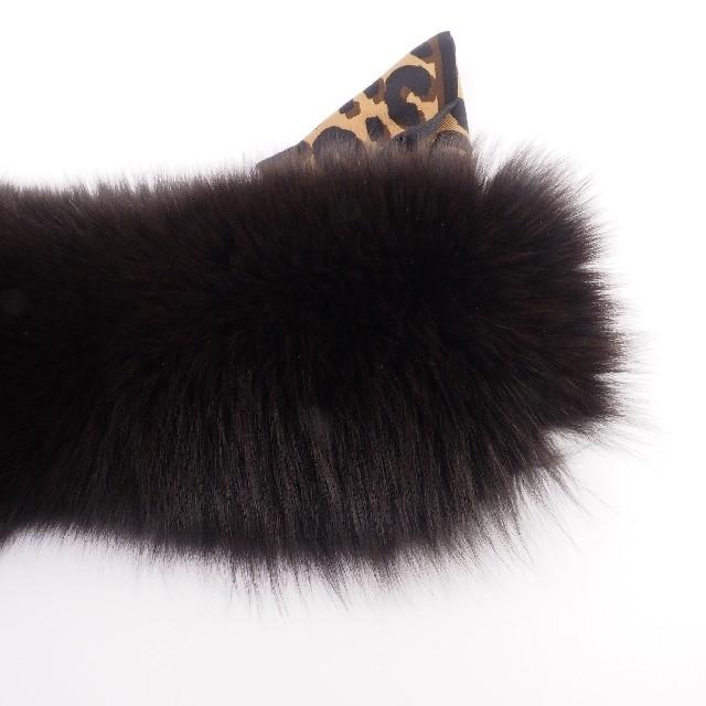 Hermes(エルメス)の【新品 レア】ルイヴィトン ファー マフラー ブラウン 588 レディースのファッション小物(手袋)の商品写真