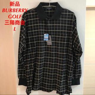 BURBERRY - 新品 Burberry バーバリーゴルフ メンズ ゴルフウェア ポロシャツ