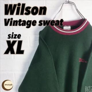 wilson - 【レア】 Wilson vintage スウェット ゆるだぼ ウィルソン