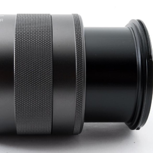 Canon(キヤノン)の【新品級】Canon  キャノン EF-M 18-55mm IS STM スマホ/家電/カメラのカメラ(レンズ(ズーム))の商品写真