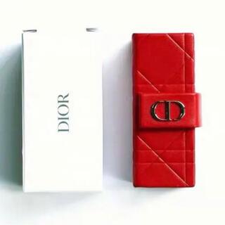 Dior - ディオール ノベルティ リップケース レッド
