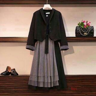 新品 未使用 大きいサイズ 卒業式スーツ レディース 結婚式 お呼ばれ5]1(スーツ)
