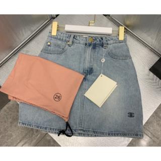 シャネル(CHANEL)のCHANEL シャネル デニムミニスカート26(ミニスカート)