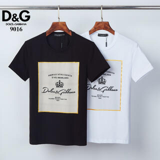 DOLCE&GABBANA - 人気新品 Dolce Gabbana Tシャツ 半袖 #60