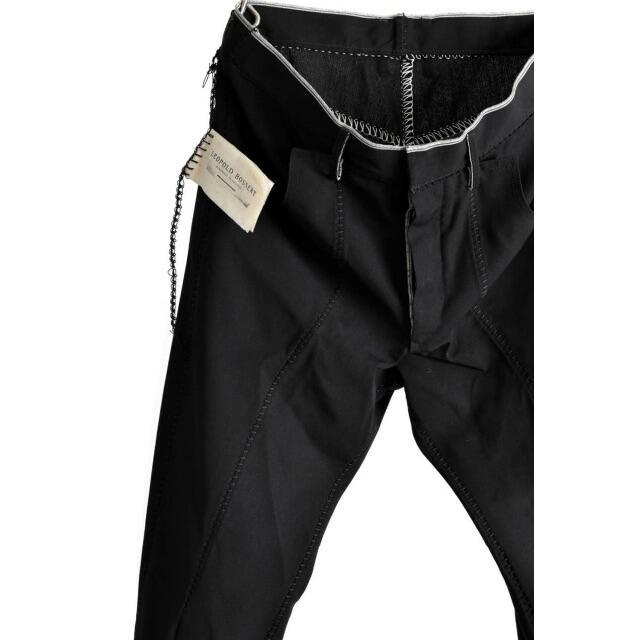 Carol Christian Poell(キャロルクリスチャンポエル)のLEOPOLD BOSSERT オーバーロックステッチ SILK JEANS メンズのパンツ(デニム/ジーンズ)の商品写真