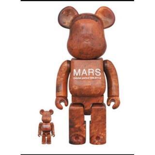 メディコムトイ(MEDICOM TOY)のBE@RBRICK MARS 100% & 400%(その他)